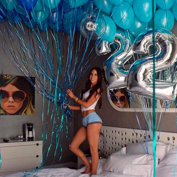 Шары на 18 лет для девушки. Подборка шаров на совершеннолетие