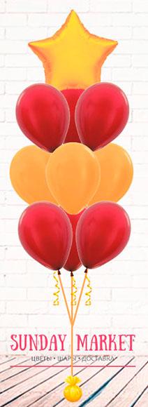 Эскиз от Sunday Market  - фонтан из шаров со звездой